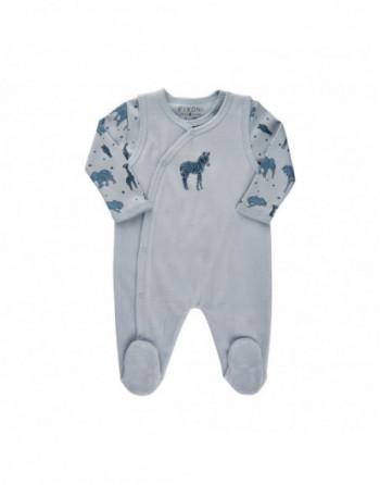 Fixoni Romper sæt Baby Blå