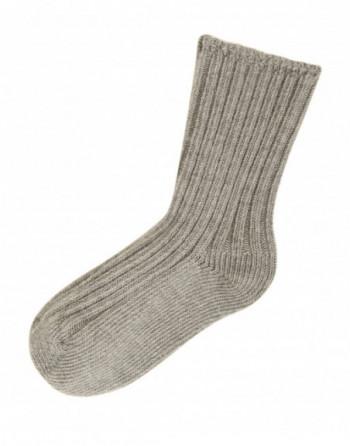 Joha Uld sokker Sandfarvet